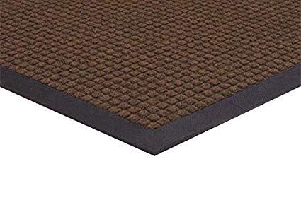 Spongemat Water Absorbing Entry Mat, 4' x 2', Walnut