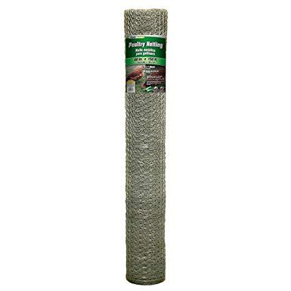 YARDGARD 308434B 5 Foot X 150 foot 1 Inch Mesh Poultry Netting