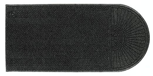 Andersen 2243 Waterhog Eco Grand Elite PET Polyester Fiber Single End Entrance Indoor/Outdoor Floor Mat, SBR Rubber Backing, 5-1/2' Length x 3' Width, 3/8