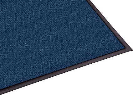 Guardian Golden Series Chevron Indoor Wiper Floor Mat, Vinyl/Polypropylene, 2'x3', Blue