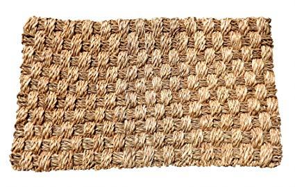 Green Breeze Imports Large Abaca Weave Doormat