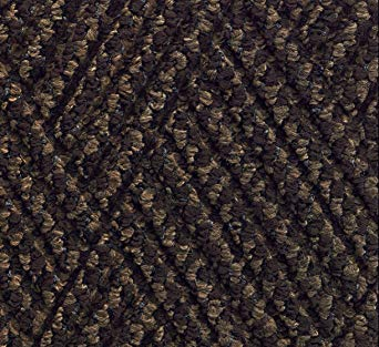 Andersen 296 Waterhog DiamondCord Polypropylene Fiber Interior/Scraper Wiper Floor Mat, SBR Rubber Backing, 3' Length x 2' Width, 3/8